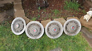 Vintage Ford Mustang Hubcaps, 1973, 74, 76, 77..set Of 4....15....