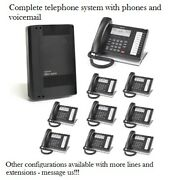 Refurbished Toshiba Cix40 Phone System And 9 Dp5022sdm Phones Voicemail And Gcdu2
