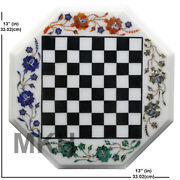 Marble Chess Set Handmade Chess Table With Pieces Adult Chess Set Antique