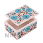Box Jewelry Boxes Marble White Storage Organizer Craft Case Ring Display Earring