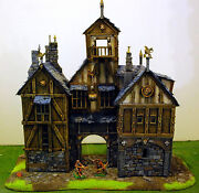 Warhammer Age Of Sigmar War Game Scenery Big Empire Tipicol Palace Pro Painted