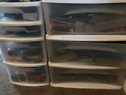 Thomas The Train Assortment- Tracks Trains Stations- Great Condition-not Wood