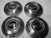 1967 Ford Falcon Mustang Fairlane Hubcap Wheelcover 9 5/8 Set Of 4