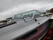 Complete Windshield From A 1984 Baretta Cuddy Cabin 20and039 Boat Parting Out Boat