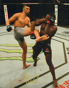 Johnny Walker Signed Auto'd 11x14 Photo Mma Ufc 235 Contender Series Fight Night