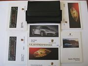 2003 Porsche 996 911 Turbo 6 Speed Tip Owner Manuals Operator Books Pack A221