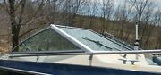 Complete Windshield From A 1982 Century 2000 Sport Lx Boat Parting Out Boat