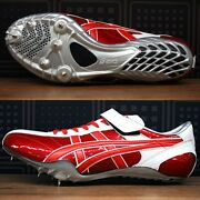 Asics Track And Field Spike Shoes SP Ray Ttp302 1501 M.red