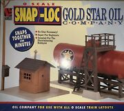 ✅life Like Gold Star Oil Company Building Kit Accessory Lionel Mth Derrick