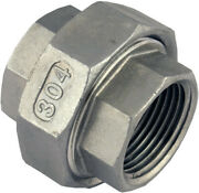 Union Stainless Steel Pipe Fittings Npt Sch 40 Ss Sus304 Female/male