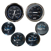 Faria Beede Instruments Ktf064 Box Set Of 6 Gauges Speed Tach Fuel Level
