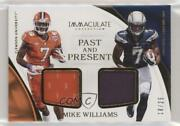 2017 Panini Immaculate Past And Present Jerseys /25 Mike Williams Pa-mw Rookie
