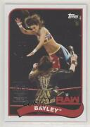 2018 Topps Heritage Wwe Transcendent Vip Party 1/1 Bayley 9