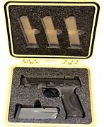 Smith And Wesson Sandw Mandp Streamlight Tlr + 6 Mags Foam Kit Fits Pelican 1200 Case