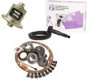 1972-2006 Dana 44 Front Or Rear 4.56 Ring And Pinion Open Carrier Yukon Gear Pkg