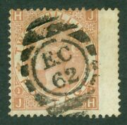 Sg 121 2/- Brown. Very Fine Used With A London And039ec62and039 Numeral Harrow...