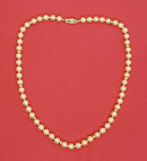 Cultured Japanese Salt Water Pearl Necklace
