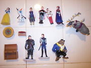 Disney Figurines From Snow White Frozen Beauty And The Beast