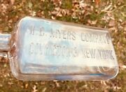 Rare H. C. Myers And Co. Whiskey Bottle Covington, Ky., And New York 1897