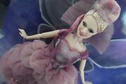 Nutcracker The Four Realms Sugar Plum Fairy Barbie Doll With Wings And Doll Stand