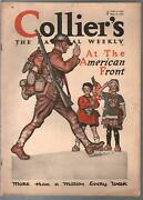 Collierand039s 5/18/1918-wwi Issue-pulp Fiction- American Flag-piggly Wiggly-vg