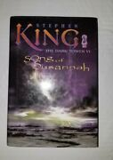 The Dark Tower 6- Song Of Susannah-stephen King Free Shipping