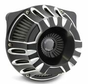 Arlen Ness Inverted Deep Cut Black Cut Stage 1 Air Cleaner Harley Twin Cam 99-15