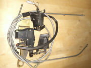 Trunk Lid Latch Power Release Solenoid With Cables For 86-91 Volvo Bertone 780