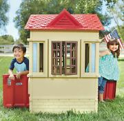 Kids Outdoor Playhouse Toy For Girls Boys 2-3 Year Olds Best Pretend Play New