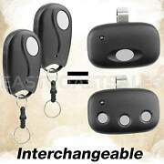 2 Garage Door Remote Mini Key Chain For Act-31b, Linear Megacode Mct-3, Mct-11