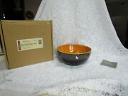31805 Longaberger Halloween Party Bowl Mint In The Box