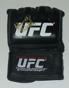 Johnny Walker Signed Auto'd Official Ufc Fight Glove Bas Coa Contender Series