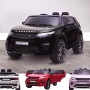 Riiroo 12v Licensed Land Rover Discovery Hse Sport Ride On Car Remote And Music