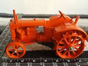 Allis Chalmers U Wf On Steel 1/16 Die-cast Farm Tractor Replica By Scale Models