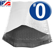 Size 0 6.5x9 Poly Bubble Mailer Dvd Size Ultimate Quality Usa Made- Ships Today