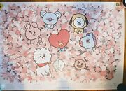 Collectable Bt21 Speak Yourself Tour Poster 25.5x35.5 New Bts Persona 2019
