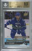 2016-17 Upper Deck Young Guns Exclusives /100 Troy Stecher 475 Bgs 9.5 Rookie