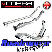 Vz07b Cobra Sport Astra Vxr Mk5 3 Exhaust System Non Res And Sport Cat Downpipe