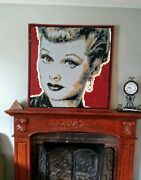 Lego Mosaic Lucile Ball I Love Lucy