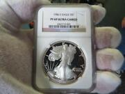 First Year 1986 S Eagle Pf69 Ultra Cameo Key Date- Started Toning