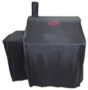 Char-griller 5555 Grill Cover Fits 2121 2828 And All Smokers Black