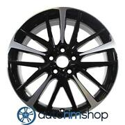 New 19 Replacement Wheel Rim For Toyota Camry 2018-2021 Machined Black
