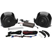 Wild Boar Audio 300 W Lower Fairing Speaker Amp Kit 2014 And Up Harley Twin-cooled