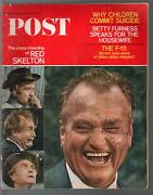 Saturday Evening Post 6/17/1967-red Skelton-betty Furness-pulp Fiction-g