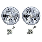 7 24v 100w Halogen Military Headlight Bulb Crystal Clear Pair For Jeep And Truck