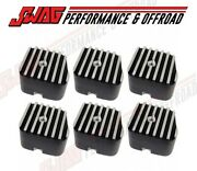 Bd Diesel Valve Cover Replacement Cap For And03989-98 12 Valve Cummins - Set Of Six