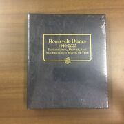 Whitman Classic Coin Album 3394 For Roosevelt Dimes From 1946-2022
