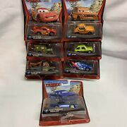 Disney Cars 2 Diecast Lot Of 7 New In Box Cars