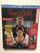 Hansel And Gretel Witch Hunters Blu-ray/dvd Digital 2013 New Digibook Target