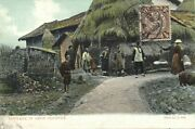 China Amoy Xiamen Native Chinese Countryside Cottage 1910s Dragon Stamp